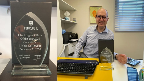 Lior Kodner - Chief Digital Officer of the Year 2020