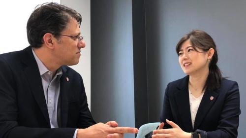 JBpress newspaper - Israel & Japan CDO Collaboration