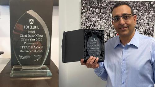 Ittay Hazan Chief data officer of the year 2020